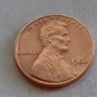 1 цент США 1982 г.