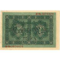 Германия, 50 марок, 1914 г. UNC-, без перегибов.