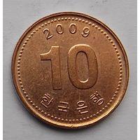 Южная Корея 10 вон 2009