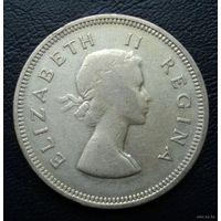 ЮАР. 2 шиллинга 1954 г.