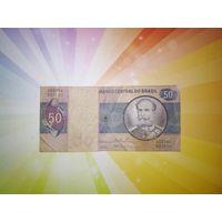 Бразилия 50 крузейро 1970г