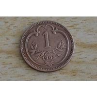 Австрия 1 геллер 1903
