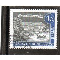 Западный Берлин.Ми-223. Дворец Бельвю (около 1800). Серия: Старый Берлин. 1962.
