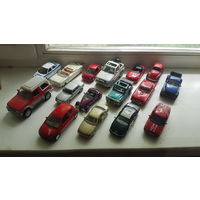 Лот моделей автомобилей масштаба 1:43 за Вашу цену.. ВАЗ,ГАЗ,FORD,DODGE,mitsubishi