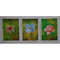 Гвинея.1995.цветы