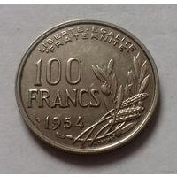 100 франков, Франция 1954 г.