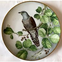 Коллекционная декоративная тарелка ''Cuckoo'' ,Limoges,Франция 1984г.