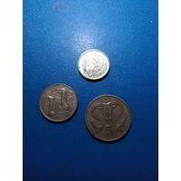 Кипр 3 монеты