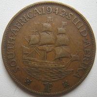 ЮАР 1 пенни 1942 г. (d)