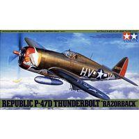 """Самолет P-47D Thunderbolt """"Razorback"""", сборная модель 1/48 TAMIYA 61086"""