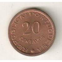 Сан-Томе и Принсипи 20 сентаво 1971