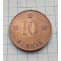 Финляндия 10 пенни 1937г.