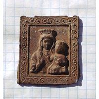 Иконка Ченстоховская Божья матерь (не частая)