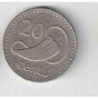 20 центов 1978 года острова Фиджи 35
