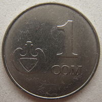 Киргизия (Кыргызстан) 1 сом 2008 г.