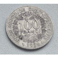 Западная Африка 100 франков, 1996 8-4-6