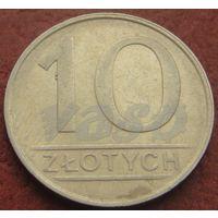 266**  10 злотых 1986 Польша