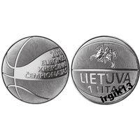 Литва. 1 лит 2011 года. Баскетбол