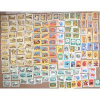 Коллекция 150 спичечных этикеток СССР(есть редкие) с рубля за Вашу цену!!!