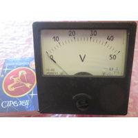 Вольтметр 0-50V