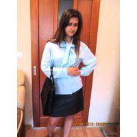 Блуза в офис с бантом р. 50