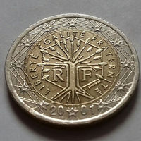 2 евро, Франция 2001 г.