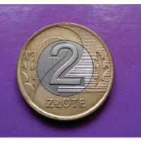 2 злотых 1994 Польша #09