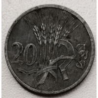 Богемия и Моравия 20 геллер 1942