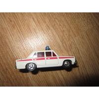 Машинка СССР . Скорая помощь . 1:60