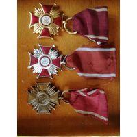 Медали Комплект Польша Крест