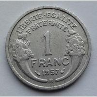 Франция 1 франк. 1957. В