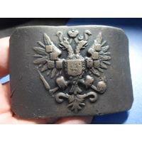 Пряжка-тяжеловес РИА Российская Империя редкая 150 грамм