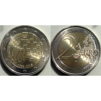 Португалия, 2 евро 2015 150 лет Красному Кресту Португалии