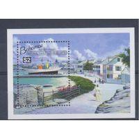 [1829] Багамы 1994. Корабли,парусники. БЛОК.