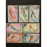 Победители зимней олимпиады в Сараево. Монголия,1984, серия 7 марок