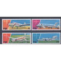 [133] Фиджи 1976. Авиация.Самолеты.