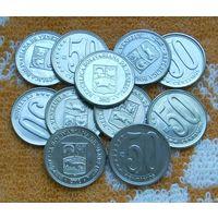 Венесуэла 50 центов 2012 г.