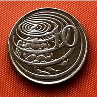 107-18 Каймановы острова, 10 центов 2002 г.