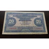 Австрия 20 шиллингов 1944 Советская оккупация