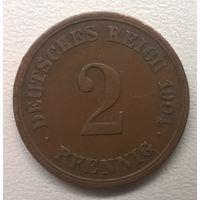 Куплю по разумной цене.  2 пфеннига - Германская империя (1871 - 1922)