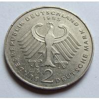 ФРГ 2 марки 1985 г