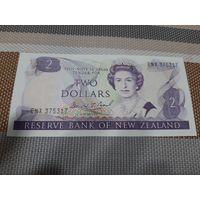 Новая Зеландия 2 доллара 1981-1983