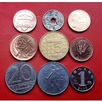 9 монеток - 9 стран. #51 Старт с 10 копеек.