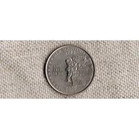 США квотер 25 центов 2000/Нью Гемпшир/(Sh)
