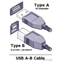 Usb-кабель для принтера (180 см)