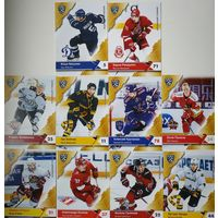 Хоккейные карточки КХЛ,11 сезон, разное