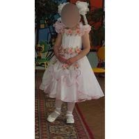 На 5-7 лет на выпускной в детсад или первые классы - нарядное платье шикарное