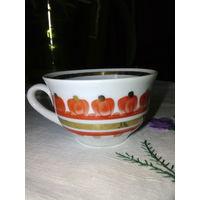 Чашка фарфоровая кофейная.