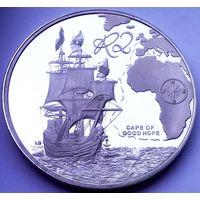 ЮАР Южная Африка 2 ранда 2009 год (серебро) PROOF - надпись на 5 языках - ОЧЕНЬ РЕДКАЯ!!!