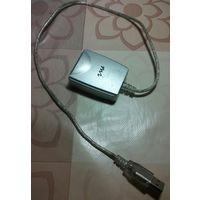Microiny 4-port USB Hub Расширитель/разветвитель  ЮСБ порта model:USB204N